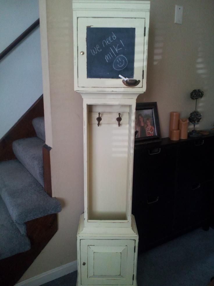 Repurposed Grandfather clock - MillCityNH