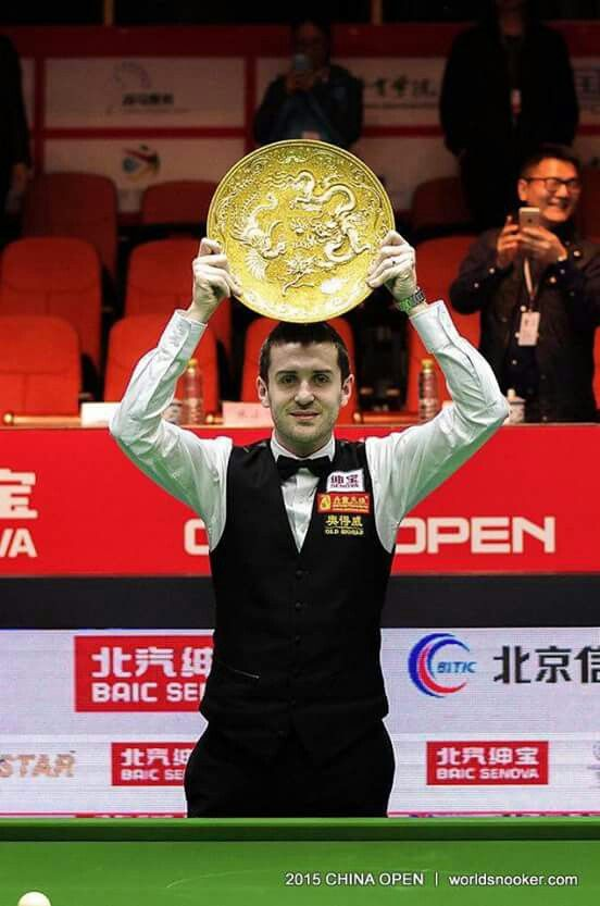 Mark Selby 2015 China Opens Winner