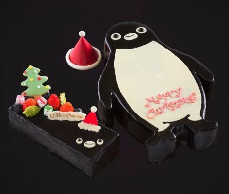 Suica のペンギンがクリスマスケーキになった!    ホテルメトロポリタン(東京・池袋)で販売される。12月15日まで予約を受け付けている。