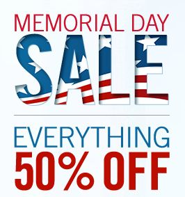 memorial day sales online