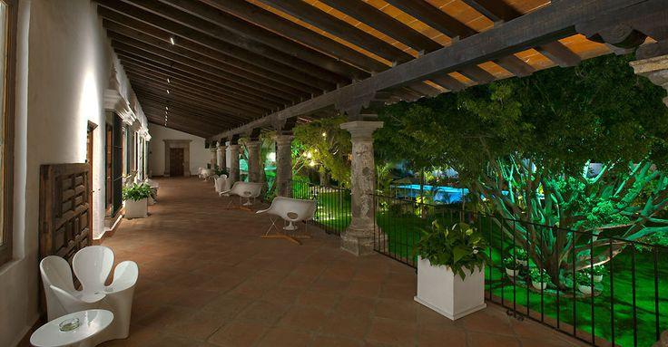 Pasillo Anticavilla Hotel, Cuernavaca, Morelos, Mexico