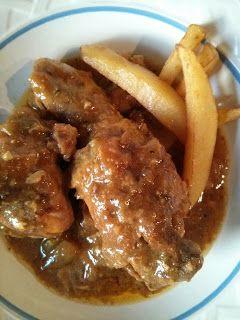 CROKETYPOT. Pollo en salsa de almendras