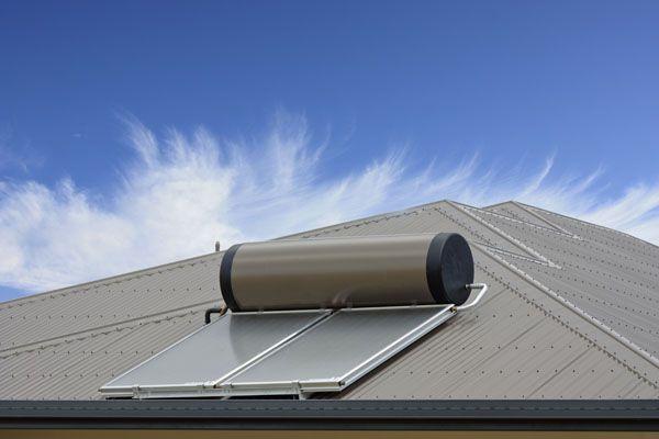 solar hot water system installation