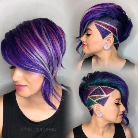 Shaved Hairstyles For Women 15 Best Fadeshaved Design Images On Pinterest  Shaved Hairstyles
