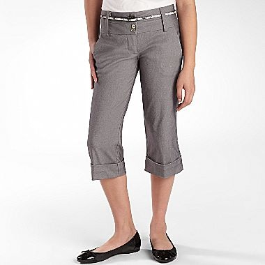 Tracey Evans Belted Cuff Pants - jcpenney