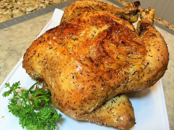 Курица запеченная в духовке от Вэйна. Самый простой рецепт. Очень вкусно...