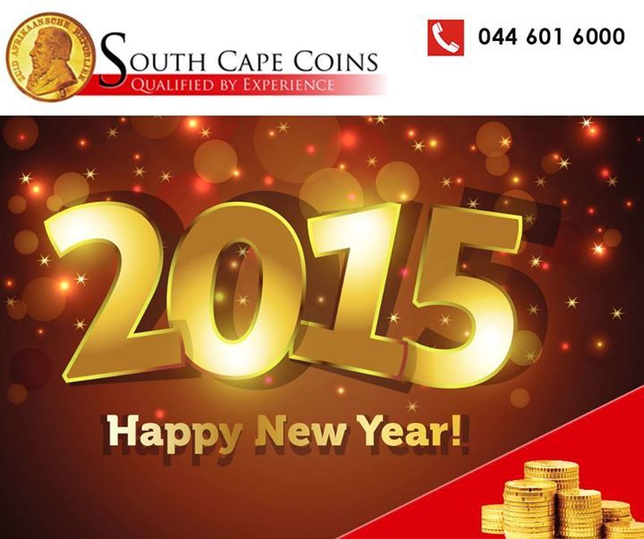 South Cape Coins would like to wish our clients and their families a very Happy and Prosperous New Year. We look forward to seeing you all again in 2015. #newyear #coins #prosperity