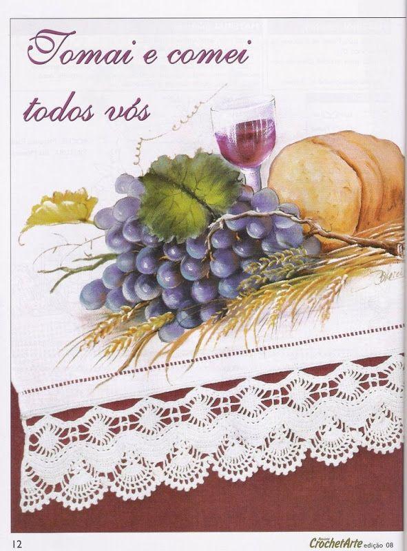 Pintura e Crochê - BIA MOREIRA - Crochet Arte 8 - neo neo - Álbuns da web do Picasa