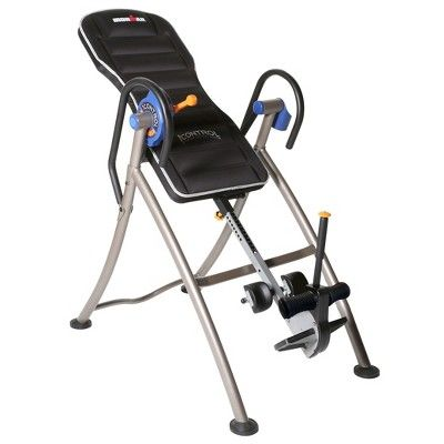 """Ironman """"iCONTROL"""" 600 Weight Extended Disk Brake System Inversion Table with """"Air Tech"""" Backrest,"""