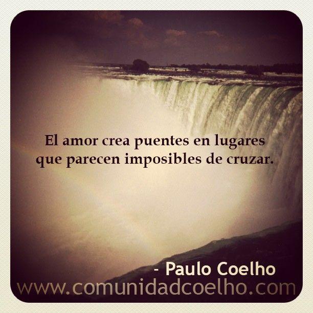 El amor crea puentes en lugares que parecen imposibles de cruzar