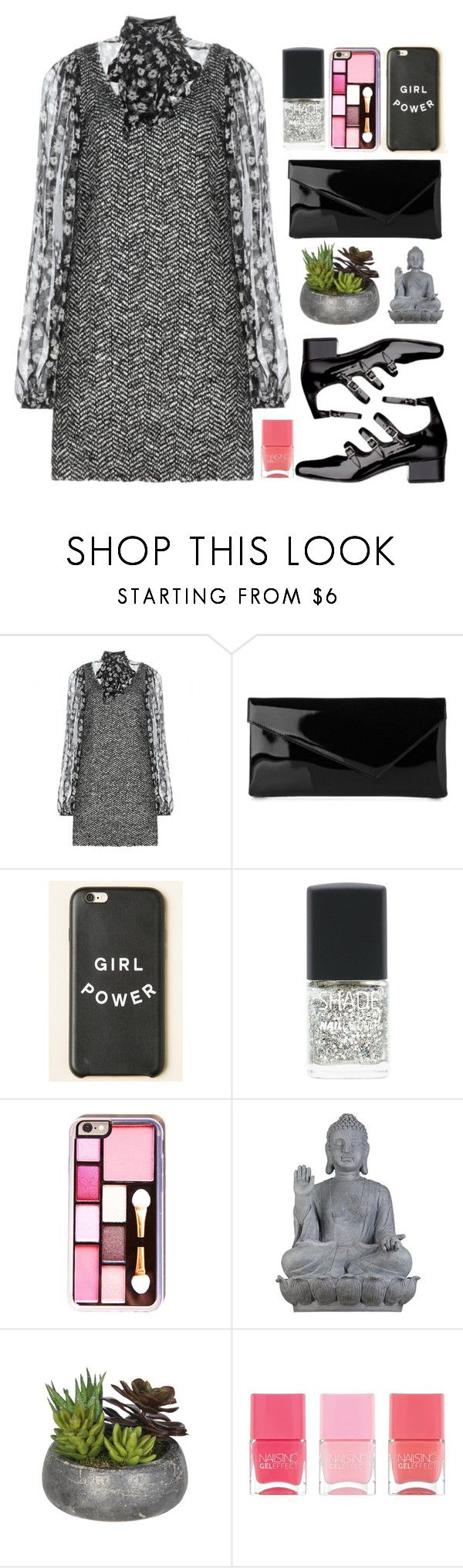 """""""08.09.17-2"""" by malenafashion27 ❤ liked on Polyvore featuring Dolce&Gabbana, L.K.Bennett, Lane Bryant, Universal Lighting and Decor and Nails Inc."""