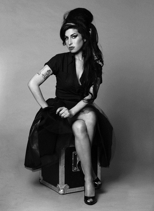 Amy Winehouse - So beautiful and such a great voice, I miss her and her music. She was so blessed and never really gave herself a chance to realize it.