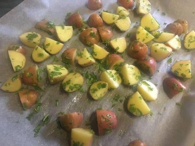 Sütőben sült újkrumpli