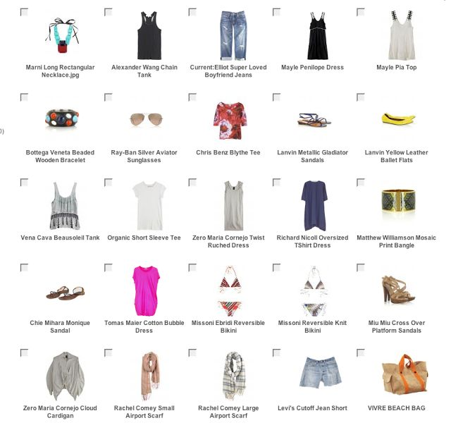 mademoiselle karla: How to pack for 6 months and not die trying... Part II