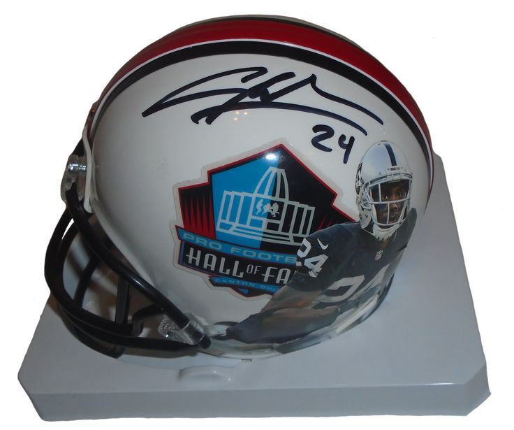 SOLD OUT! Charles Woodson signed Oakland Raiders Pro Football HOF Riddell football mini helmet w/ proof photo.  Proof photo of Charles signing will be included with your purchase along with a COA issued from Southwestconnection-Memorabilia, guaranteeing the item to pass authentication services from PSA/DNA or JSA. Free USPS shipping. www.AutographedwithProof.com is your one stop for autographed collectibles from Michigan Wolverines. Check back with us often, we are always obtaining new items