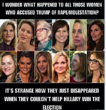 They did NOT disappear! They were shut down, threatened, and shut up by sleazy Rethuglicans and Fox Alternative Facts News. They will be back, and they will eat you alive.