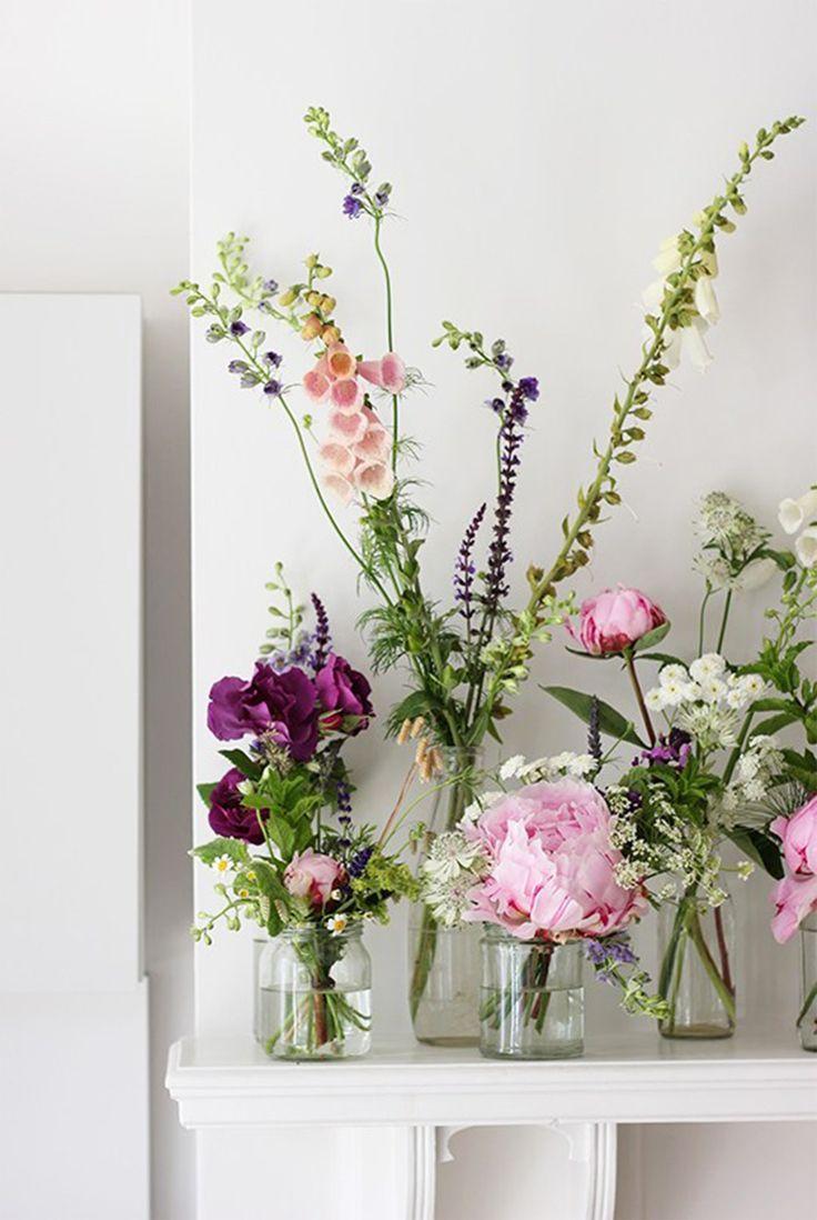 Everyday Easy Flower Arrangement Ideas Boeket Bloemen Bruiloft