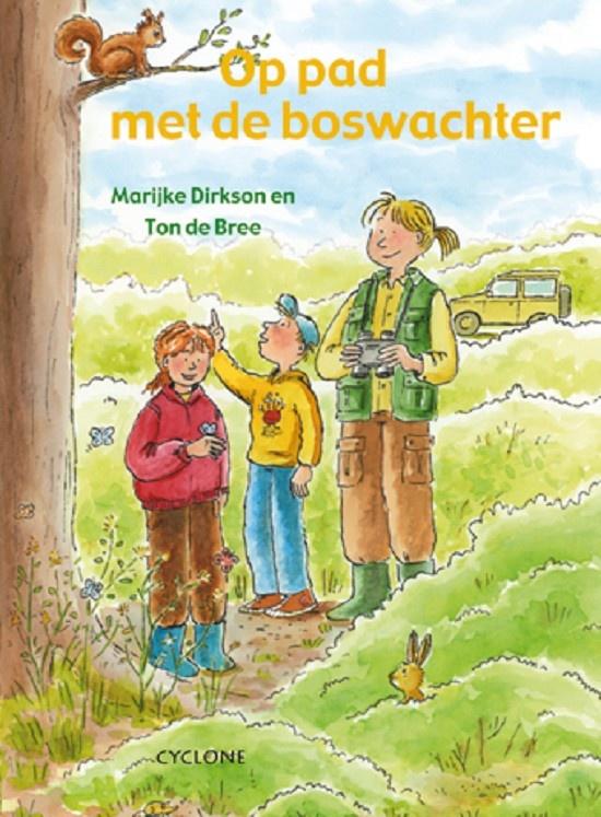 """Op pad met de boswachter. In """"Op pad met de boswachter"""" vertelt de auteur op een levendige, voor kinderen zeer begrijpelijke manier over natuurbeheer in de diverse landschappen en de planten en bomen die er groeien.   Het boek staat vol leuke tips over dingen die je zelf buiten kunt doen. Het boek heeft een stevige omslag en is voorzien van vrolijke tekeningen.  Alles wat een kind weten wil over het bos, verteld door een echte boswachter! Leeftijd: 8+        Te verkrijgen bij…"""