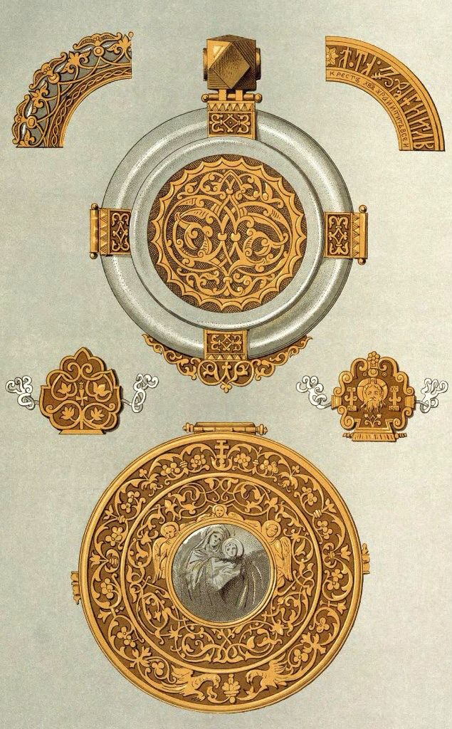 oldRussian ornaments