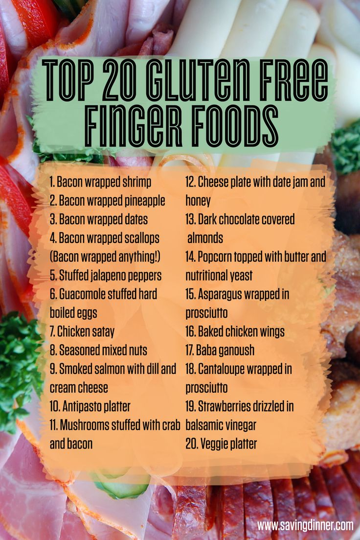 Top 20 Gluten Free Finger Foods!  Snacks and finger foods to consider serving at your next party that will please everyone in the crowd from the Celiacs and Paleoistas to good old Uncle Jim who thinks that everyone that eats organic is a hippy!
