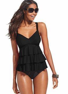 cute! #tankini #swimsuit