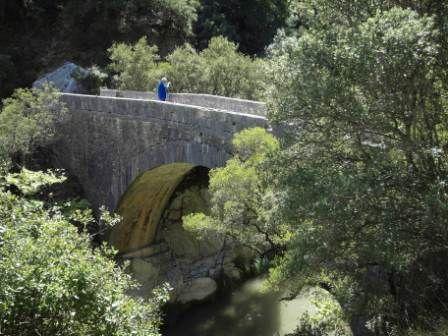 Domokos Bridge near Vidiaki village Gortynia Arcadia Peloponnese