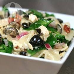 Feta Pasta Salad with Spinach @ allrecipes.com.au