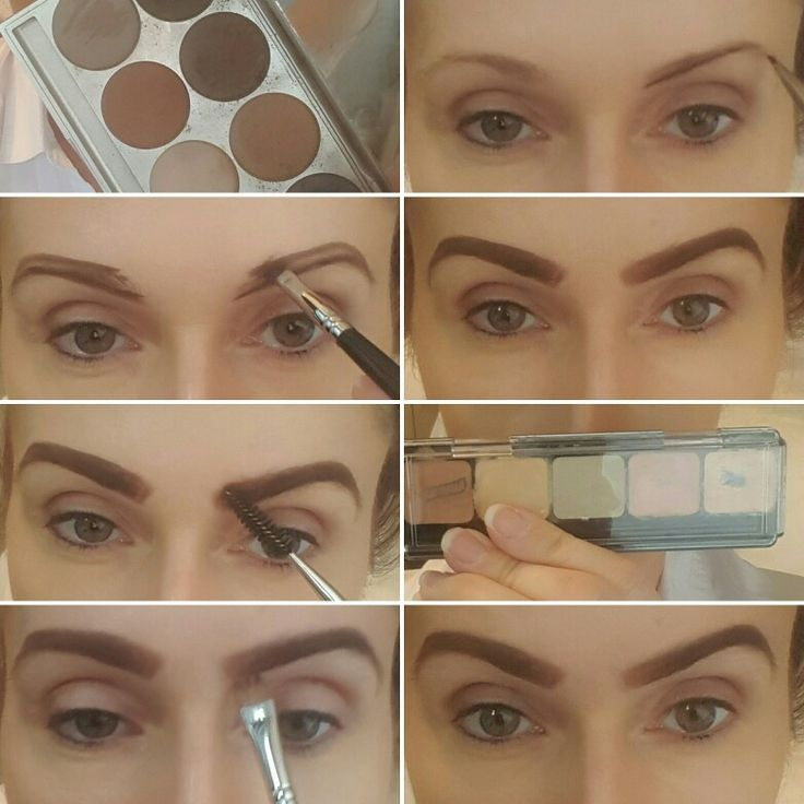 Mini Step-by-Step Eyebrow tutorial. How to define/reshape ...