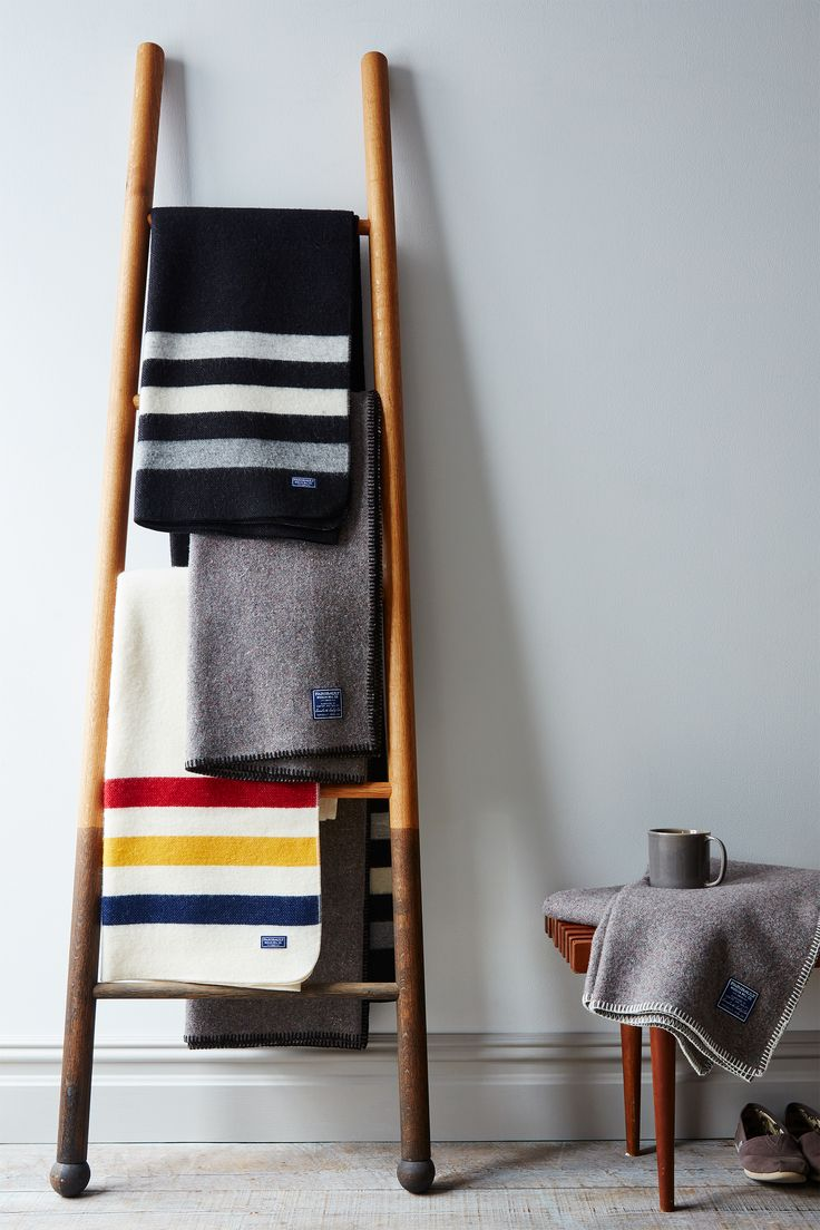 This recycled wool throw from American classic Faribault is the one you'll have wrapped around you all winter