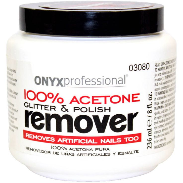 Onyx Professional 100 Acetone Glitter Polish Remover 8 Fl Oz New Free Shipping Onyxprofessional Acetone Nail Remover Pure Products
