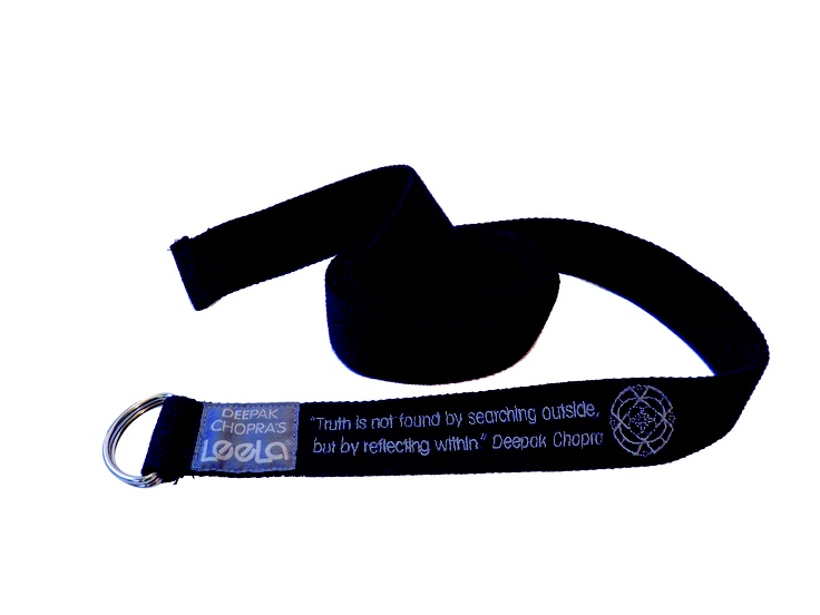 8ft Yoga Strap made of 100% Organic Cotton