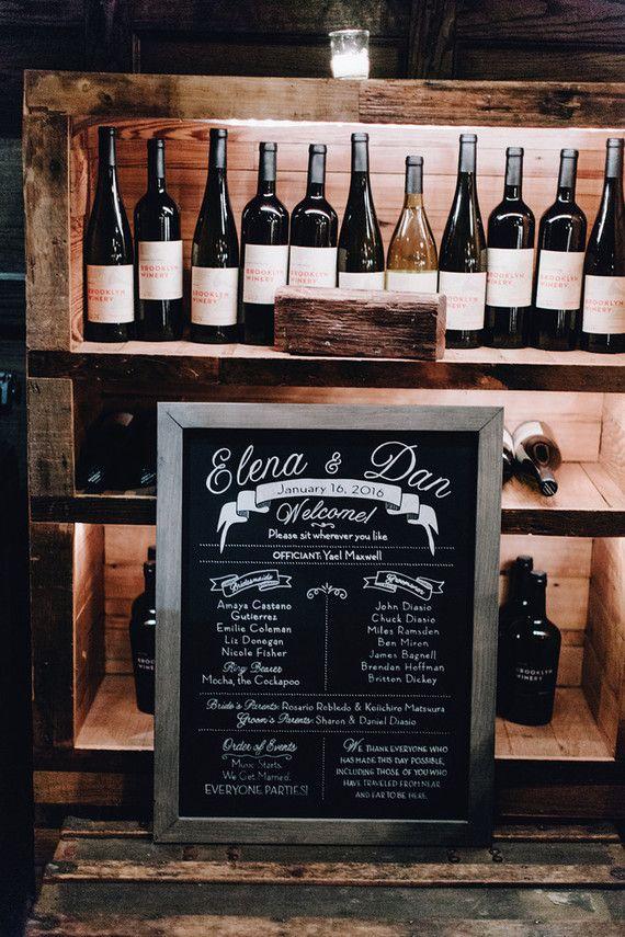 Congratulation to Elena & Dan on their Brooklyn Winery wedding!