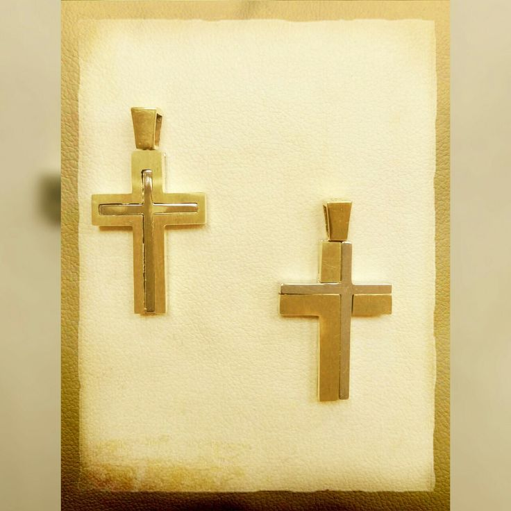 gold cross 14k