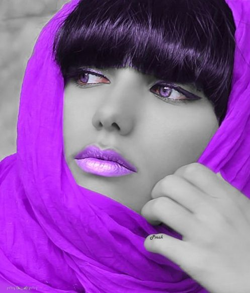 """via @Mary Martell ~ deserves honorary """"purple"""" entry in Pinkalicious :-) #Stunning #Lips #Beauty"""