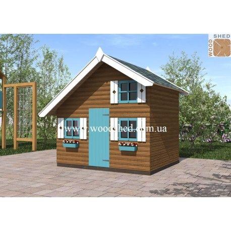 Детский домик «Тимошка» - симпатичное уютное деревянное строение, которое станет любимым местом для отдыха и игр ваших детей, а также красивым дополнением к общему ландшафтному дизайну участка. Предназначение и особенности конструкции Свой собственный домик – это мечта каждого ребенка. Многие из нас в детстве пытались определить свое личное пространство, сооружая домики из простыней, шалаши из веток и так далее.