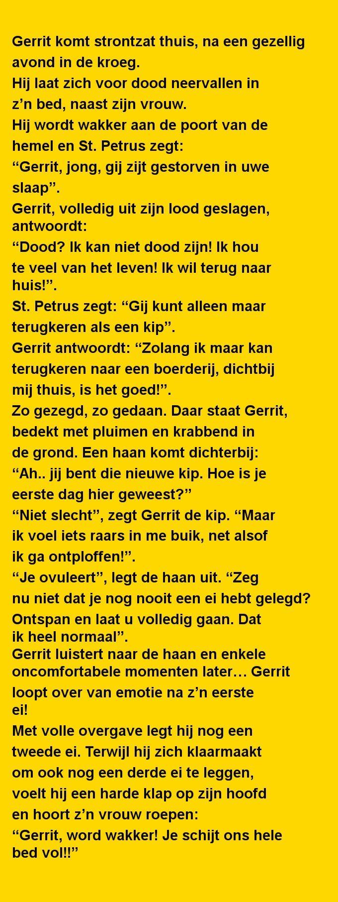 Gerrit komt strontzat - Zieer.nl