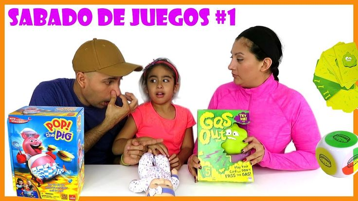 Sábado de Juegos #1 Gas Out y Pop the Pig Juegos Interactivos de Casa Ma...