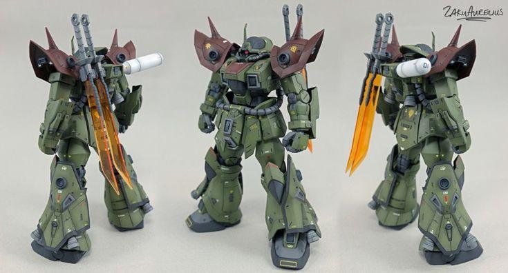 MS-08TX/G Efreet Shabh by ZKRLS | Gundam Century