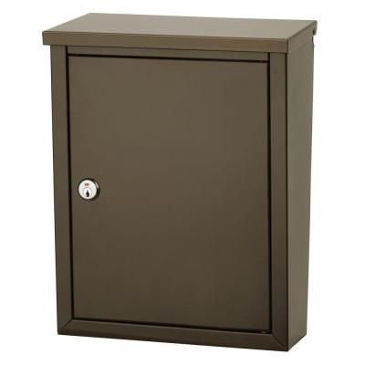 Architectural Mailboxes Chelsea Wall-Mount Lockable Mailbox - 2580Z-10 - The Home Depot