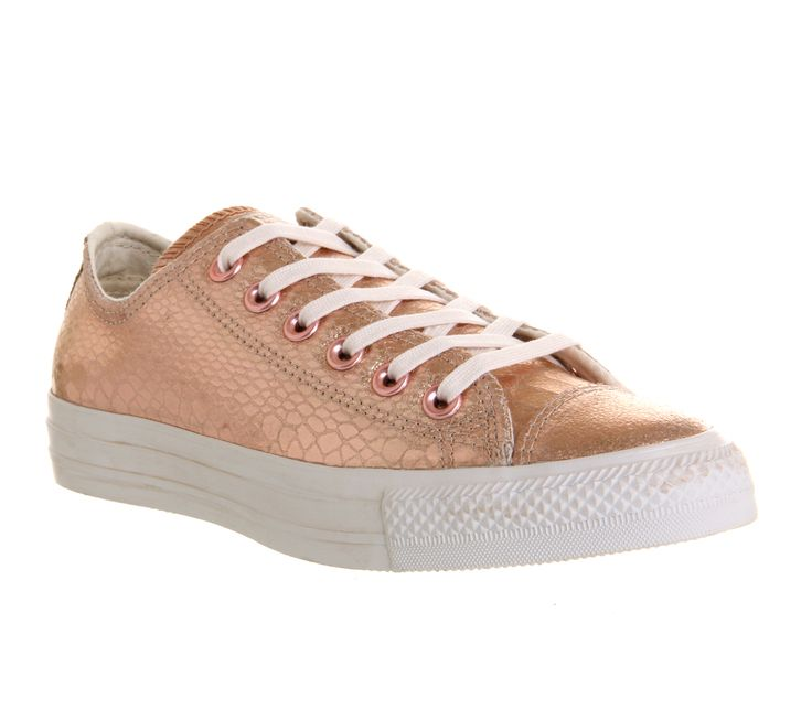 Converse Converse All Star Low Rose Metallic Snake Leather - Unisex Sports