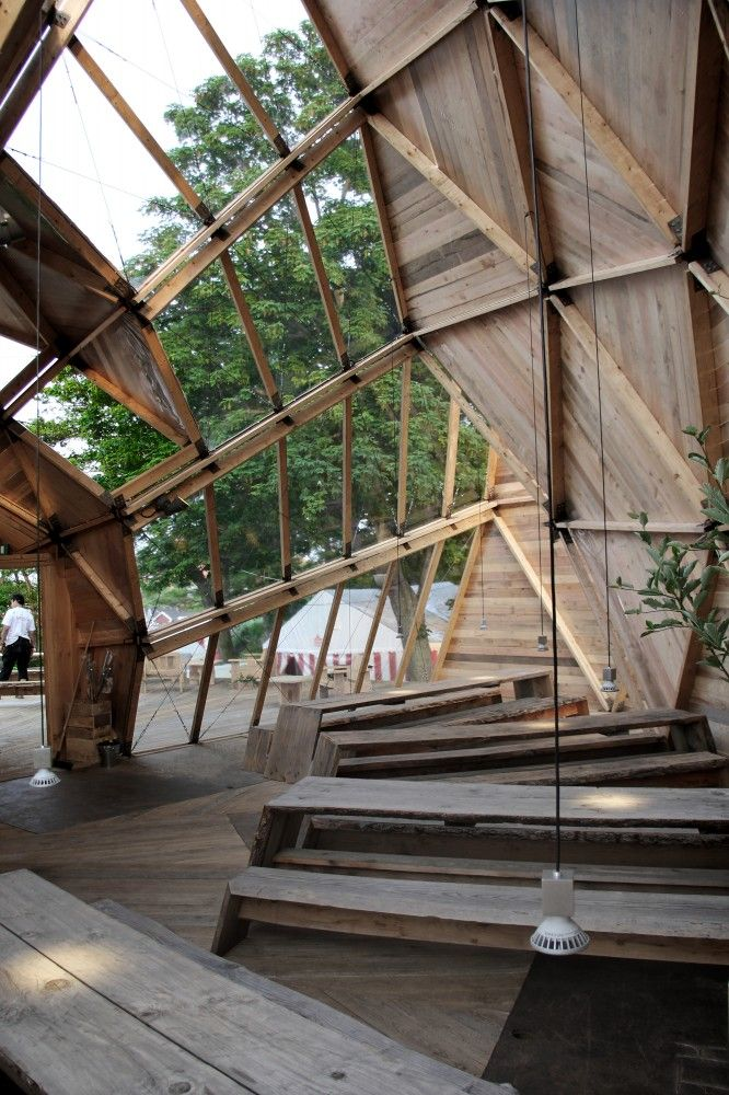 Tejlgaard & Jepsen Transform a Temporary Geodesic Dome Into a Permanent Structure