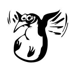 LOGICIELS LIBRES  FRAMASOFT Le pingouin volant, icône éternelle de Framasoft