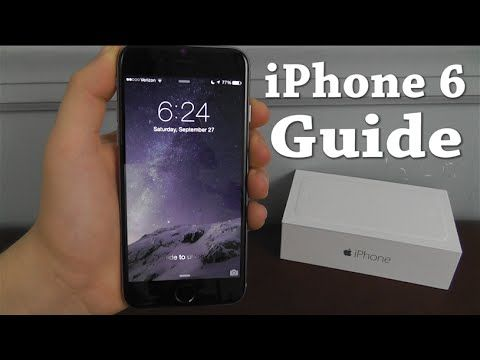 This iPhone 6 Beginners Guide covers Everything about the iPhone 6, from iOS 8 to the Control Center, this 15 Chapter Video Guide has Everything you need to ...