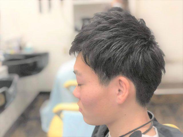 高校生5ミリ刈り上げツーブロックスタイル動画付き詳細記事はこちらです セブンカタログ138 サロンセブン 2021 高校生 髪型 刈り上げ 髪型 メンズ ツーブロック