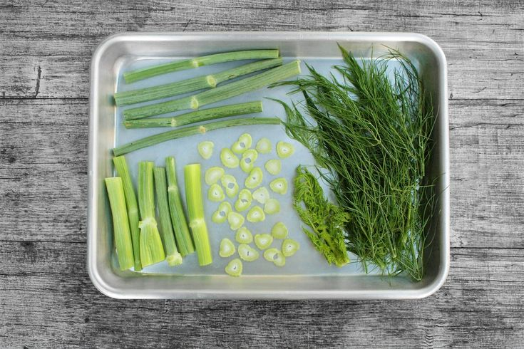 Využití zeleniny od kořene po listy
