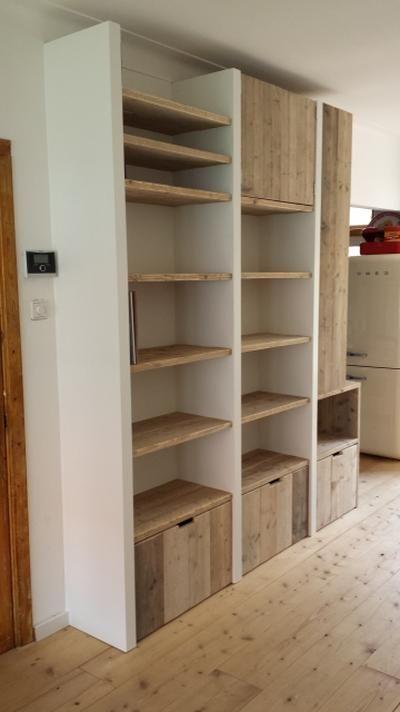 20 beste idee n over muur boekenkasten op pinterest planken en muur planken - Muur bibliotheek ...