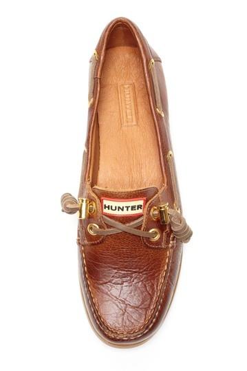 Hunter boat shoes
