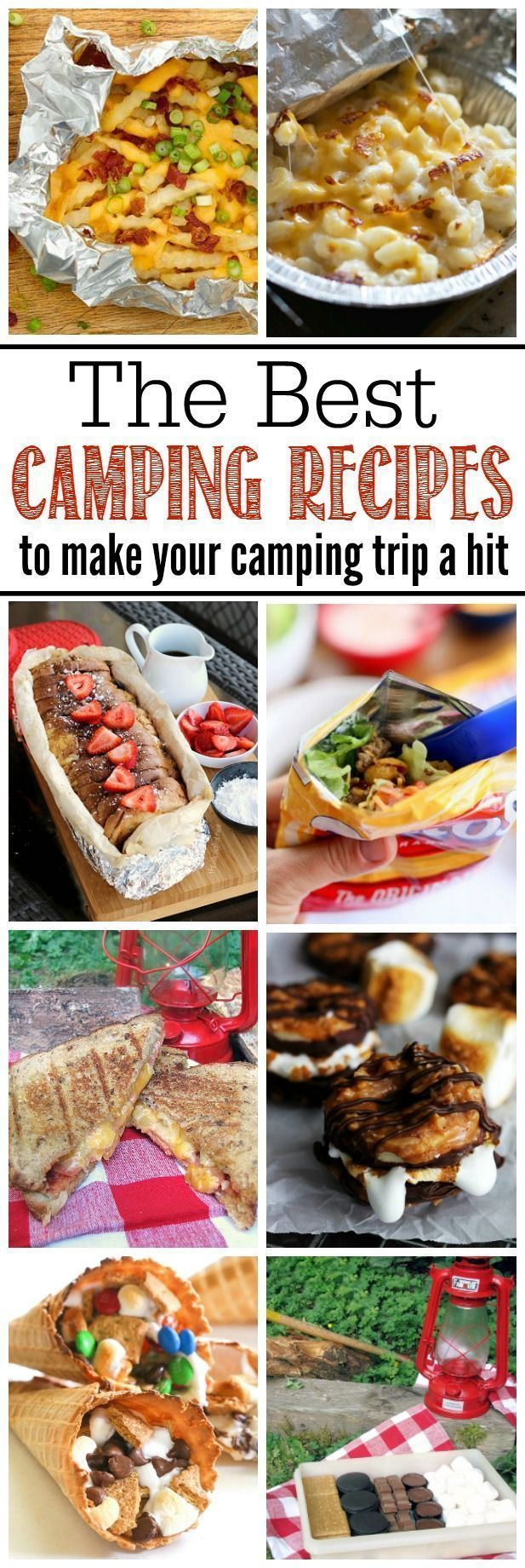 Awesome camping recipes for camping trips or backyard campfires. Must try these for summer!
