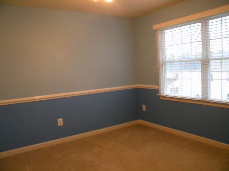 bedroom paint ideas with chair rail 3 - pictures, photos ...