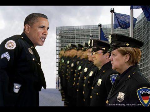 """Европа прозревает: """"США нас держит за идиотов!""""(очень интересно)"""